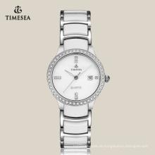 Uhr der Qualitäts-Frauen-Uhr-Stahl-Damen 71067