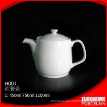EuroHome фабрики поставщика белых procelian Китай чайник