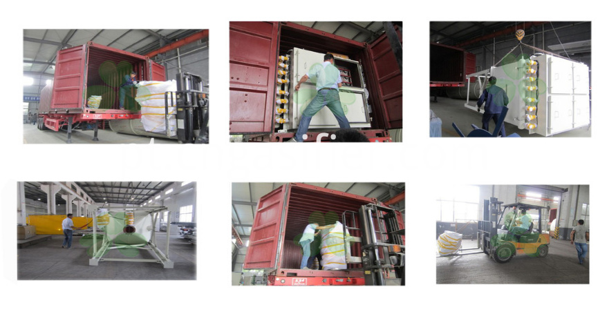 dust collector packing