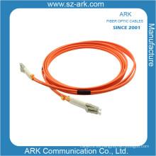 LC-LC Multimodo Duplex Cable de fibra óptica / Patchcord