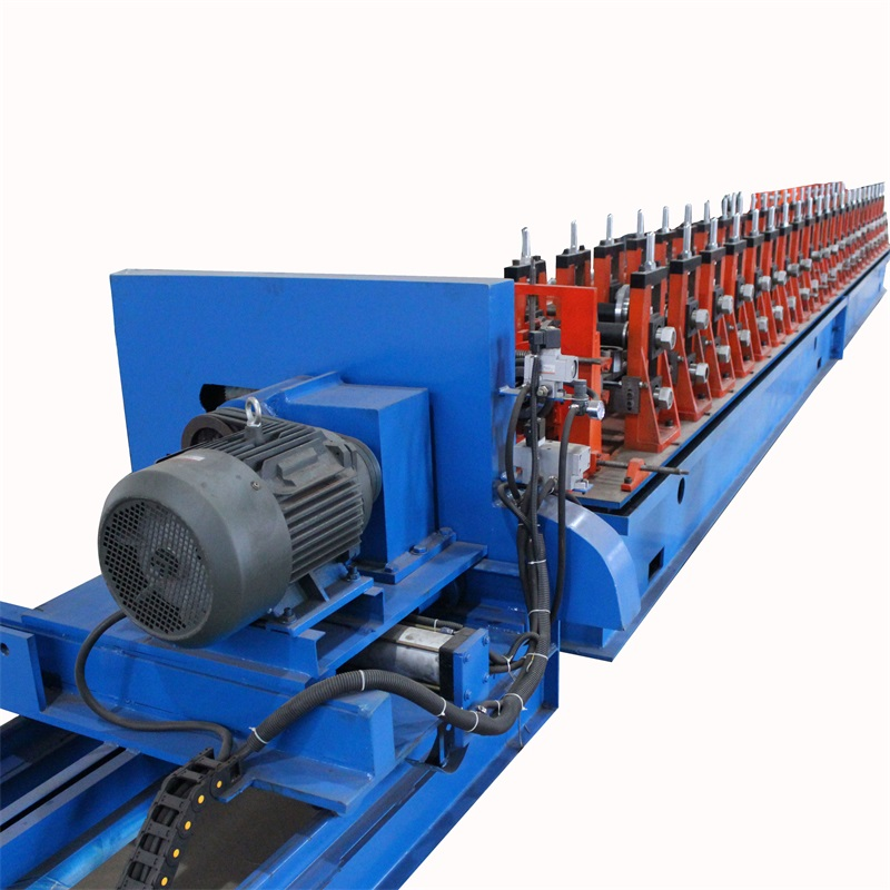 Galvanized Steel PV Solar Rack Roll Forming Machine