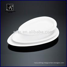 Ceramic plate dinner ware oval plate