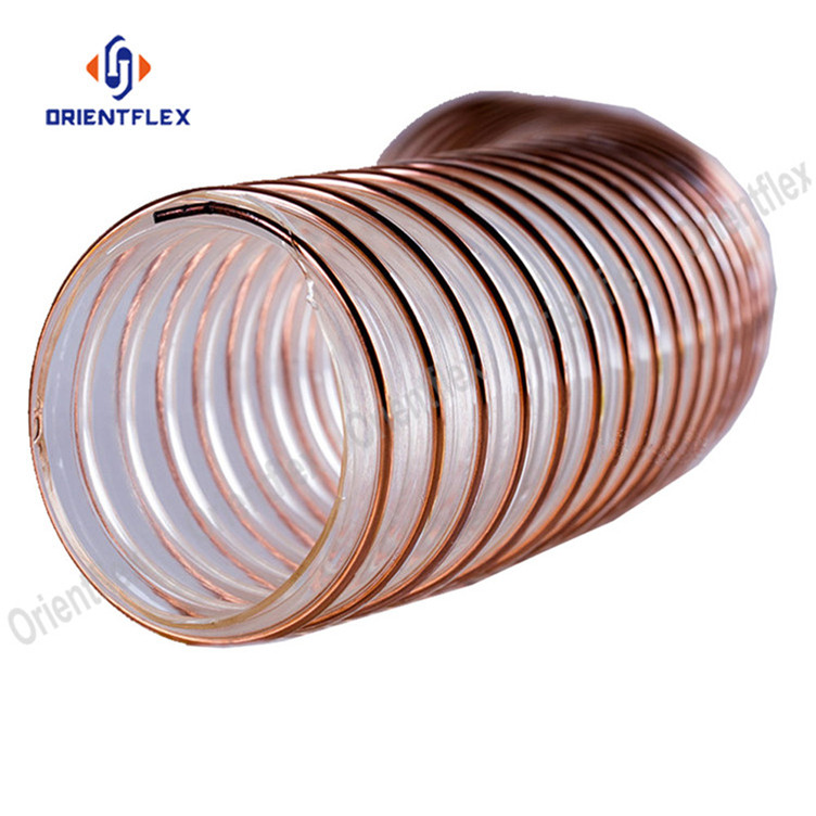 Pu Steel Duct Hose 3