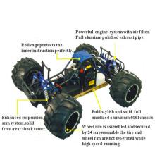 30cc alta calidad modelo coche 4WD Gas remoto Hobby