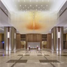 Ceiling light gold hotel KTV bar chandelier