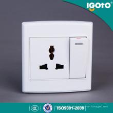 Igoto britischen Stil D3062D / 1 mehrere elektrische Wandschalter Steckdose