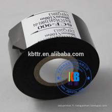 SCF900 ruban de code date estampage à chaud pour impression de cuir en plastique abs