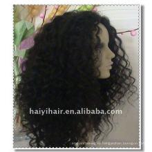 Шток оптом 100% Индийский Реми человеческого волоса парики
