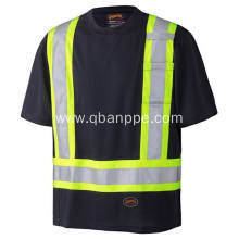 high light cheap wholesale safety reflective t-shirt