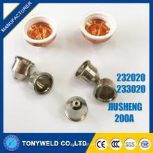 Chinês 200A água arrefecimento jiusheng 233020 escudo de plasma de ar
