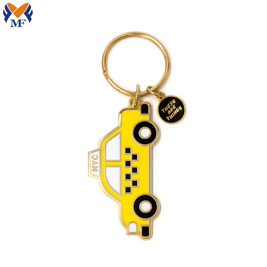 Customized Car Shaped Keychain