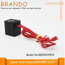 Câble long 4v série bobine vanne