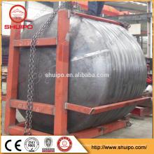 fabriqué en Chine des têtes de réservoir en acier de haute qualité