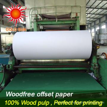Papier d'impression sans revêtement 100% sans bois