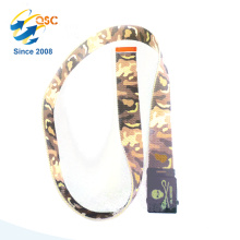 Tactical Belt with Camouflage Pattern and Black Buckle