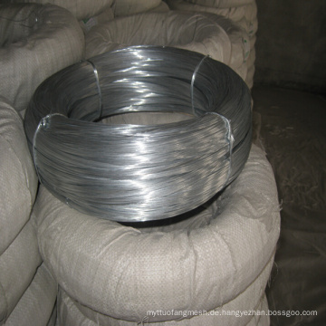 Elecric Galvanisierter Eisen Draht zum Verkauf (mit ISO und SGS)