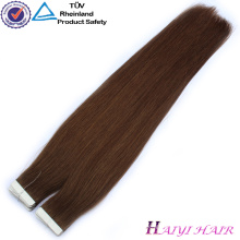 100 Double Drawn Human Hair Exthand tied virgin indian remy hair weftension hand tied virgin indian remy hair weft