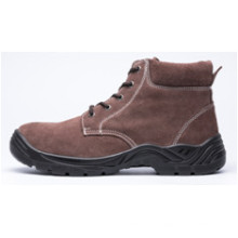 Ufb028 Cheap Brown Winter Safety Boots Steel Toe Safety Boots