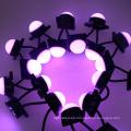 Impermeable Rgb Digital Led punto de luz 50mm Pixel ws2801 DMX 6leds / PC