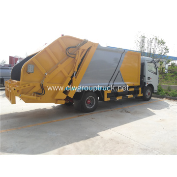 High quality 5 cbm capacity compress garbage truck