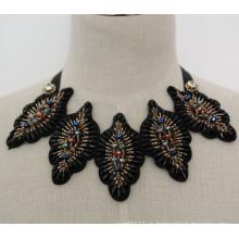 Дамы мода костюм Кристалл колье ручной работы ожерелье воротник (JE0022)