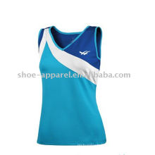 Breathable tennis sports wear for women,tennis top,gym wear