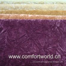 Uso de tecido de rebanho para têxteis lar