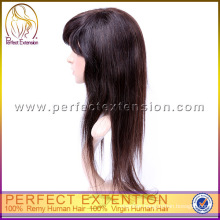 For Black Women High Quality Chinese Virgin Silk Top Full Lace Wig Silk Top