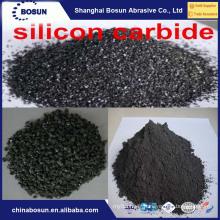 Carbure de silicium noir 98% F14 F16 pour réfractaire