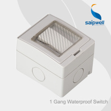 Saip Haute Qualité ip55 imperméable 13A 250V prise de montage en surface avec CE, Rohs