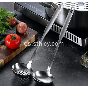 Hot Pot Spoon 304 Utensilios de cocina de acero inoxidable
