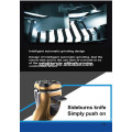 electric professional rechargeable cordless washable rotating triple blade rotary shaver for men with 3D floating heads