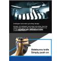 barbeador giratório rotativo lavável sem corda recarregável profissional elétrico da lâmina para homens com as cabeças 3D de flutuação