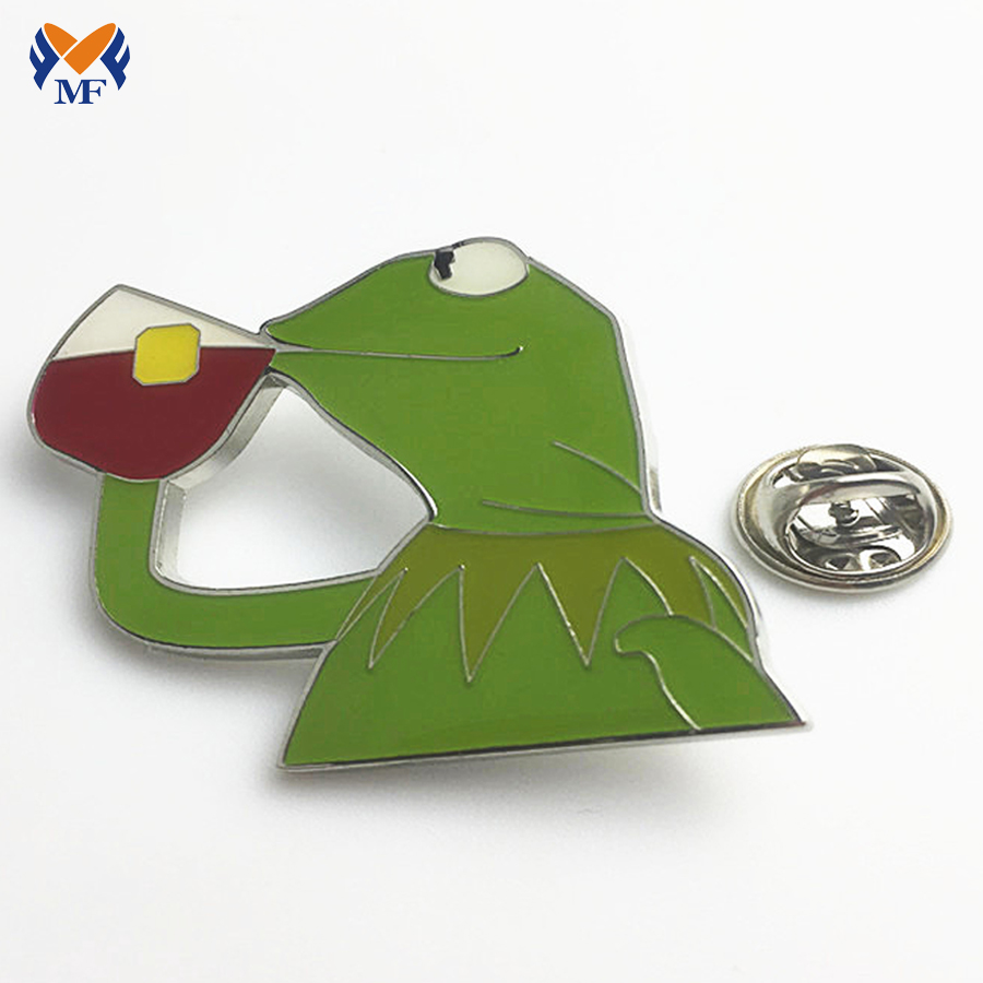 Frog Metal Badge