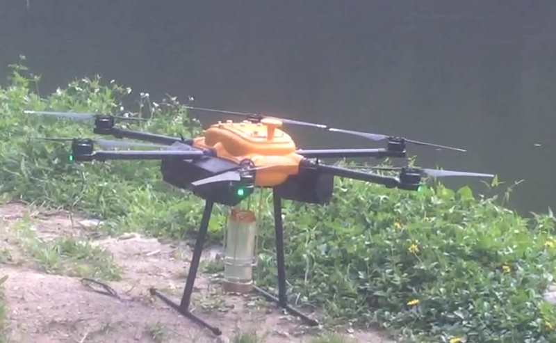Fly Fishing Drone