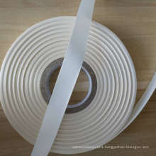 China wholesale single side woven ribbon  for clothing labels