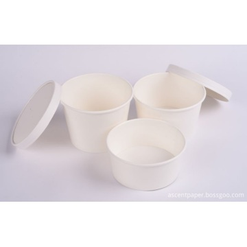 Sealable Leakproof Paper Lid For Cup Bowls