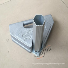 Gazebo and Tent Leg Weight by Sand Cast