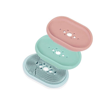 Escova de sabonete de silicone sem BPA personalizada