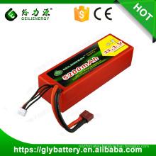 High Rate Lipo Batteries for RC Models 11.1V 5200mah