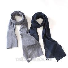 2016 Cachecol novo da cópia do algodão da forma dos homens gravatas com fotos