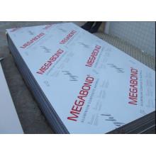 Megabond Colorido Dibond Aluminio Panel Compuesto ACP