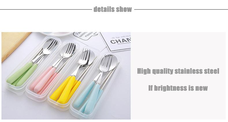 Porcelain Flatware Spoon Fork Chopsticks