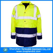 Custom Men Waterproof Hi Vis Reflective Safety Work Coats