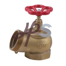 Латунь пожарный шланг посадки клапана для системы пожарного гидранта
