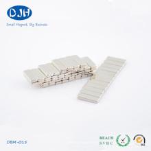 10 * 5 * 2 mm Estándar N35 Grado Neodymium Block Magnet