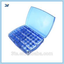 Boîte à outils en plastique à valises pour accessoires pour lunettes