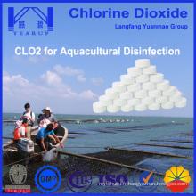 Désinfectant au dioxyde de chlore de haute qualité pour l'aquaculture
