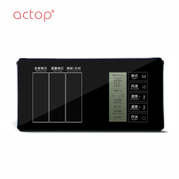 Shenzhen Actop cablato Switch 3 Gang Smart hotel