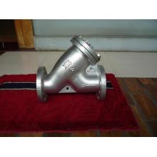 JIS 10k Cast Iron Double Flange Y Strainer
